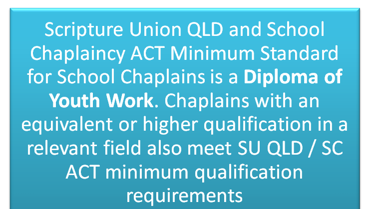 minimum qualification statement